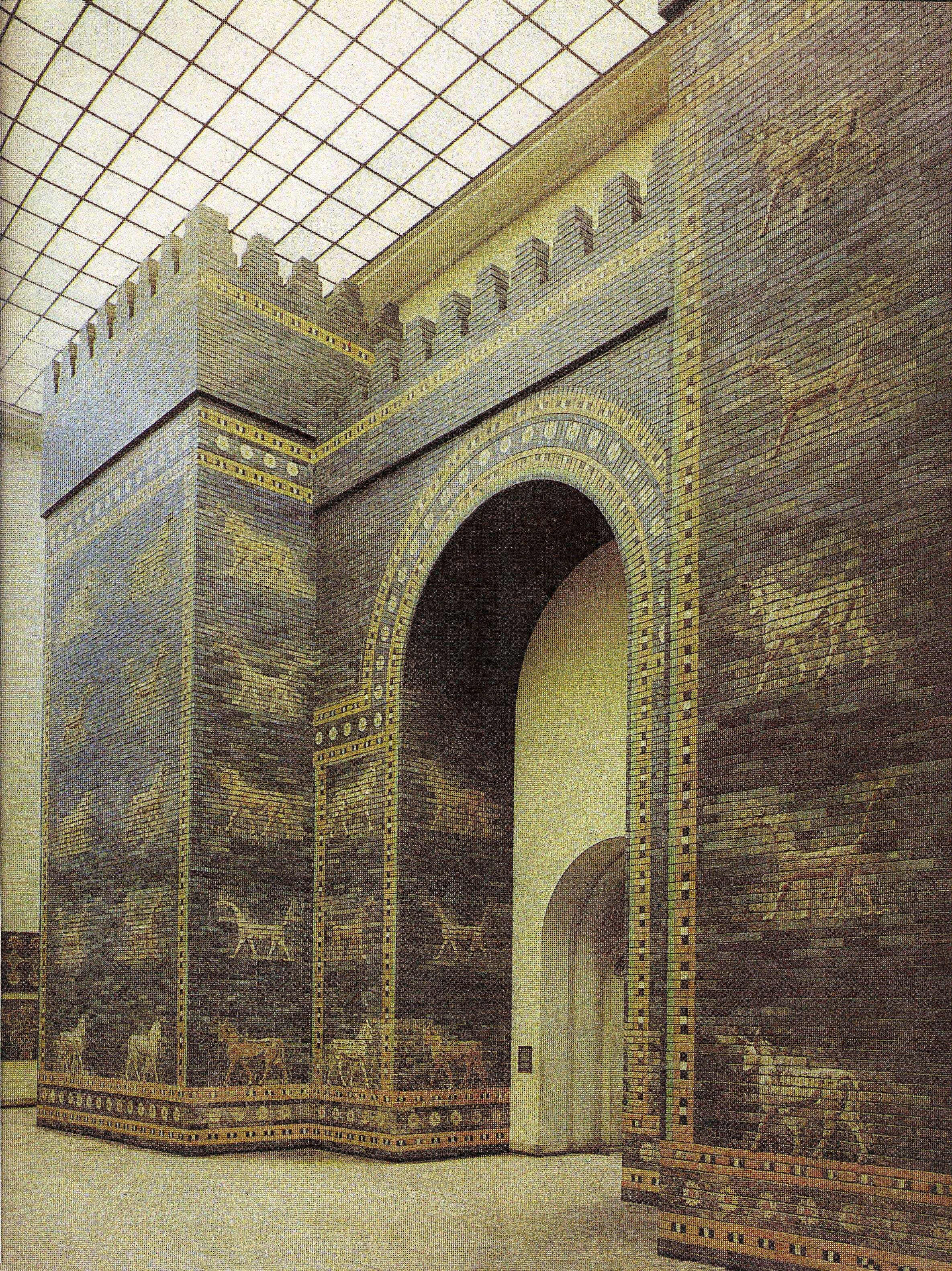 картинка ворот богини иштар гибко