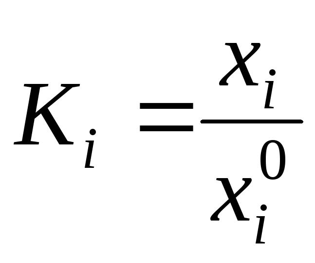Указания к оформлению курсовой работы где хi0 лучшее значение показателя