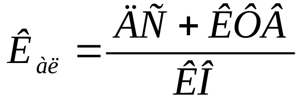 Анализ ликвидности и платежеспособности Коэффициент абсолютной ликвидности