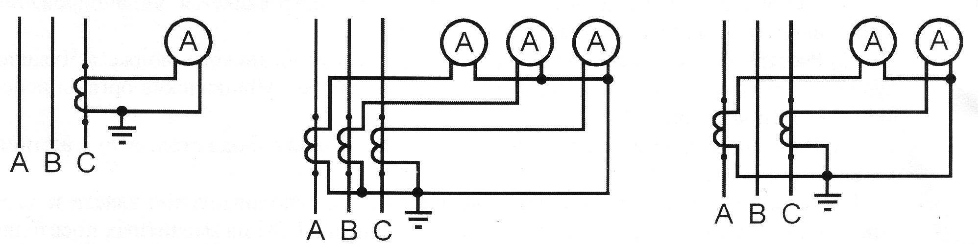 Трансформатор тока амперметр схема подключения5