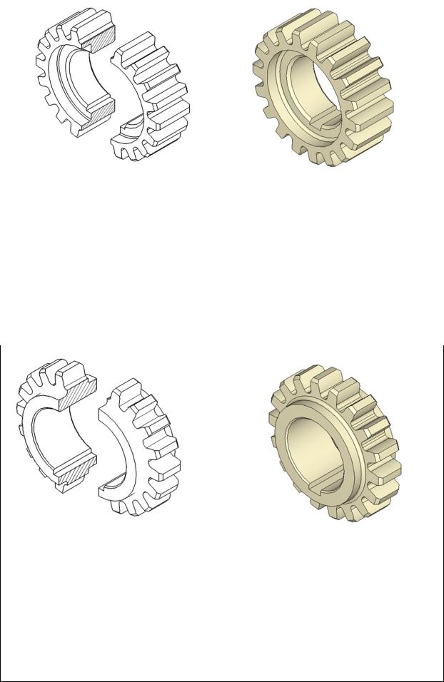 Ширина зубчатого колеса формула