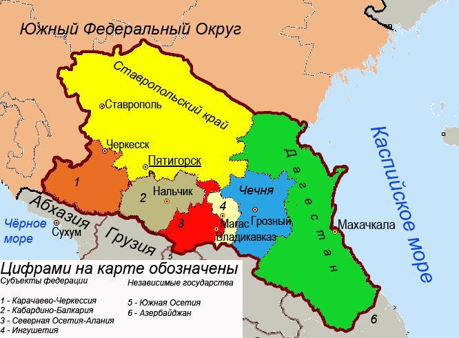 республики сев кавказа история автомобиля