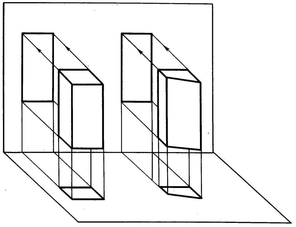 Проекция картинки на плоскость