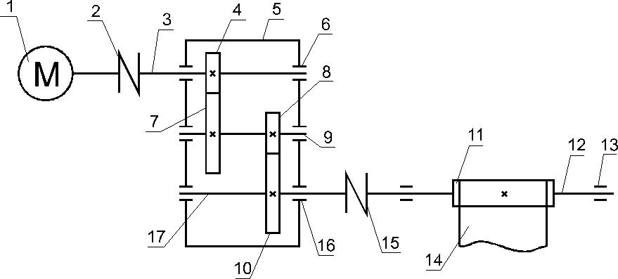 Кинематическая схема ленточного конвейера размеры дисков фольксваген транспортер т5