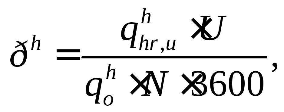 Формула секундного расхода воды
