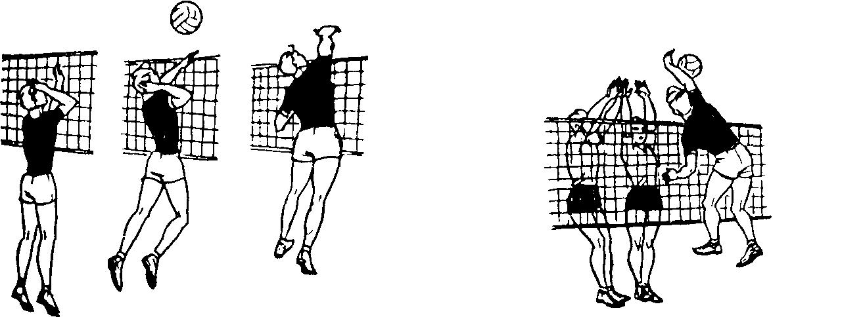 картинки нападающего удара в волейболе способов
