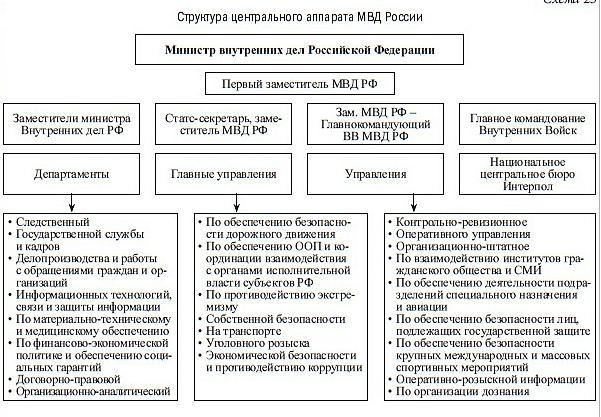 Шпаргалка структура фскн рф