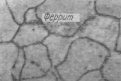 Феррит, цементит, перлит, ледебурит, графит.