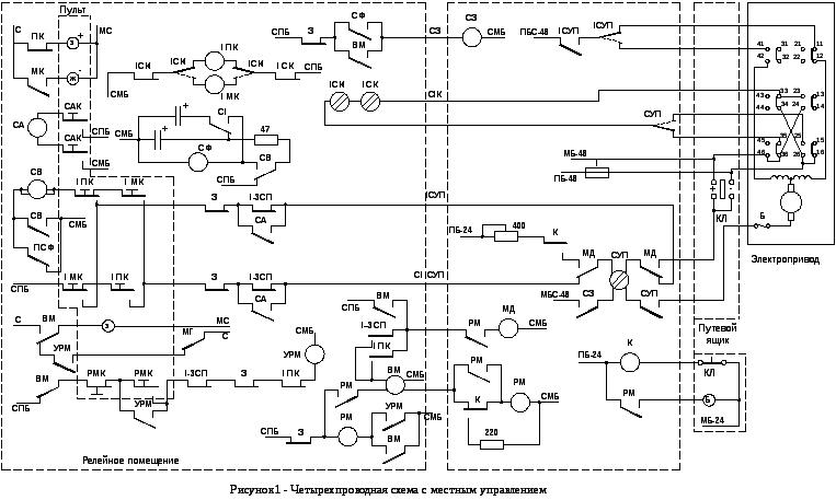 направления двухпроводная схема изменения