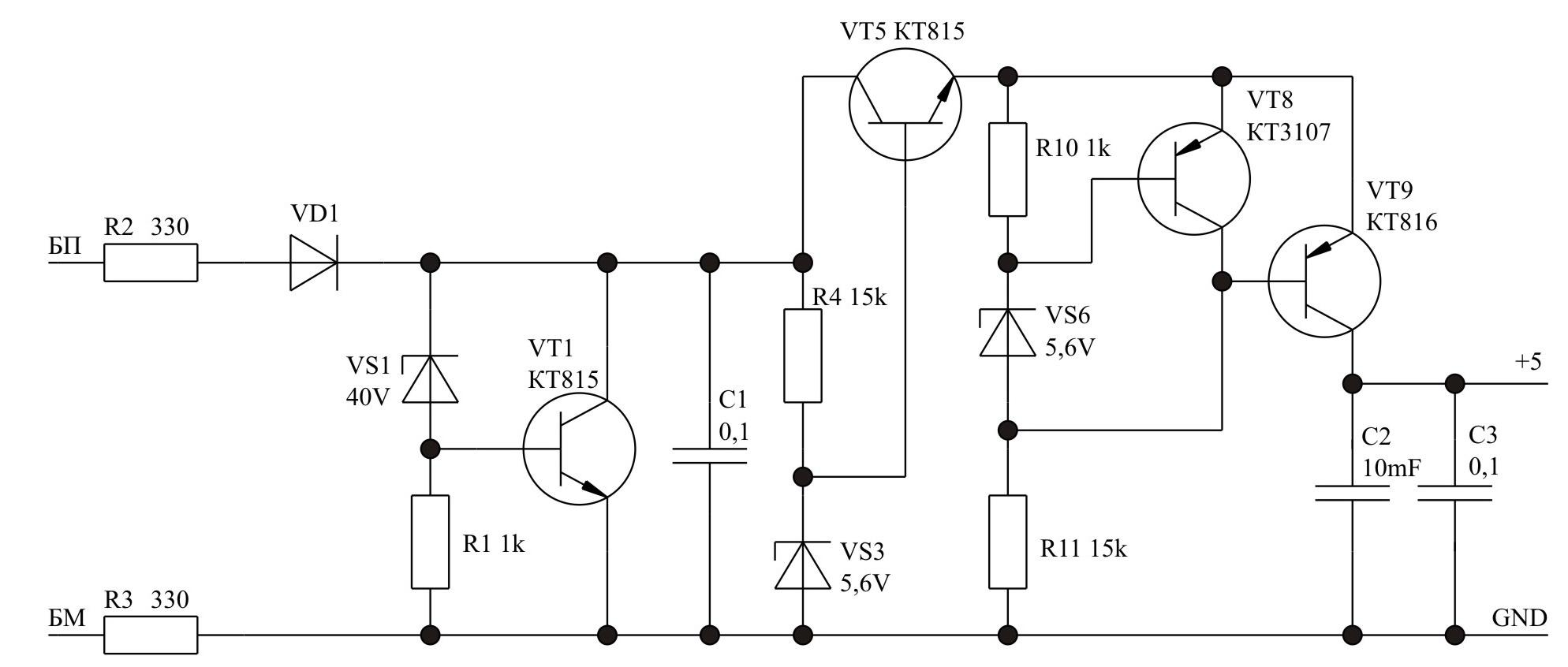 структурная схема радиопередатчика сигналов