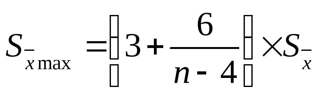 Стандартная ошибка среднего арифметического