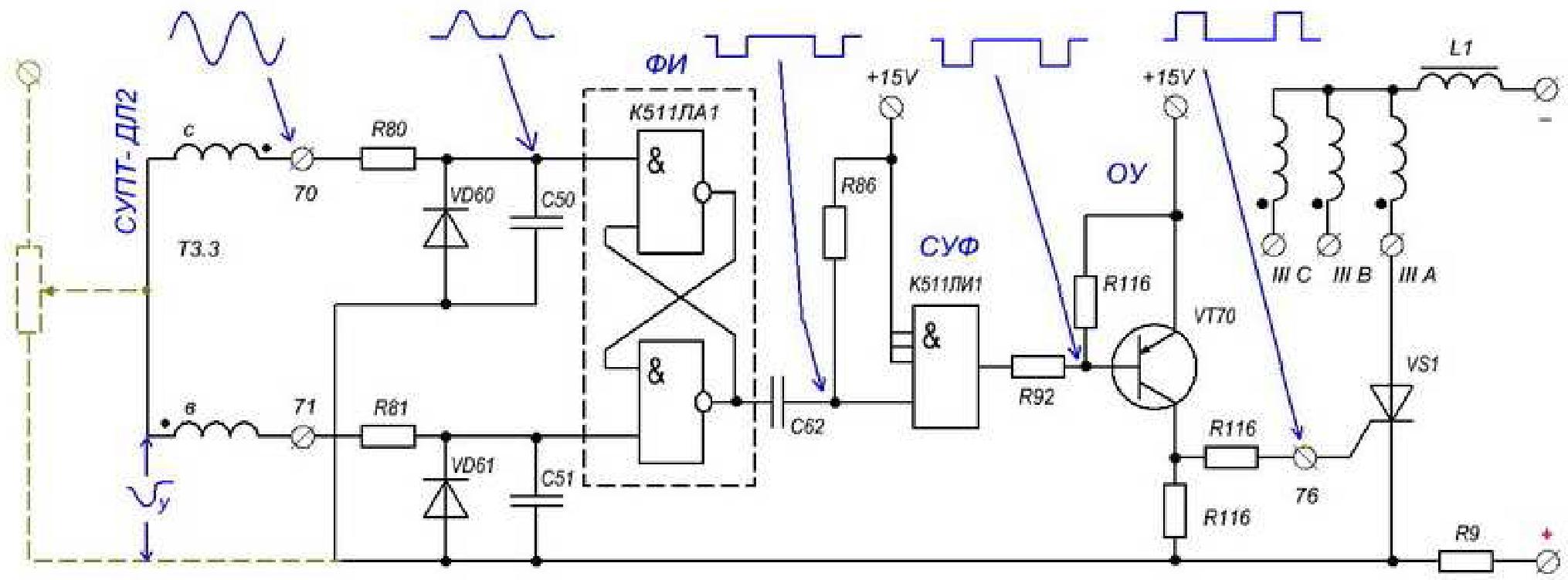 Схема сварочного агрегата сак