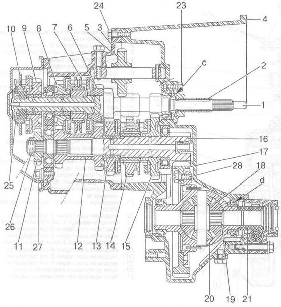 Схема коробки мазда 6