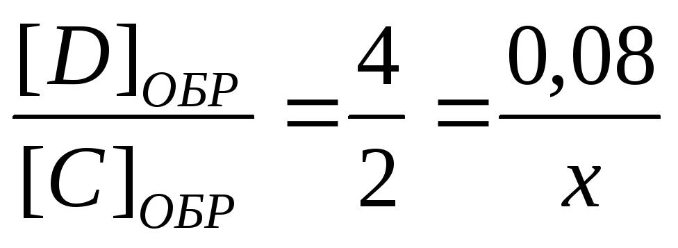 Выражение для константы равновесия гетерогенной системы