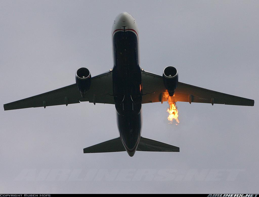 Схема спасения при крушении самолета