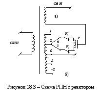 Трансформаторы с регулированием напряжения под нагрузкой рпн