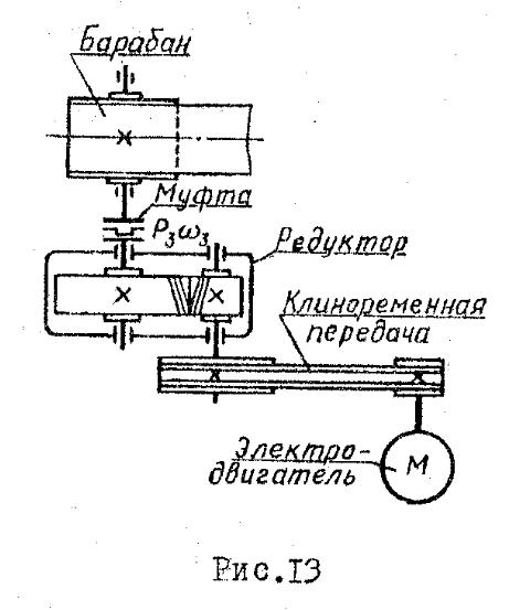 Спроектировать привод к конвейеру цепь транспортера акрос