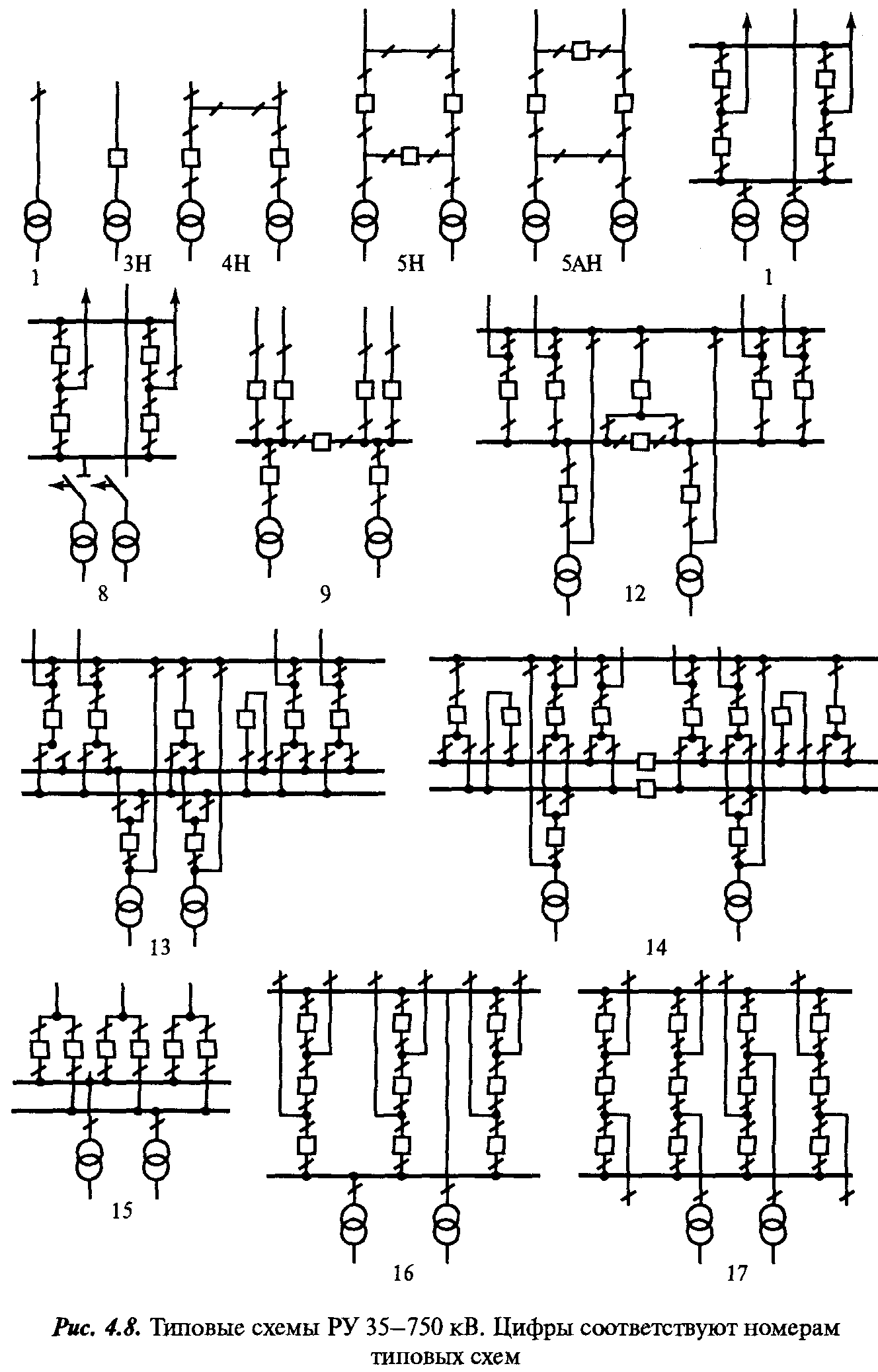 Типовая схема 110 5ан